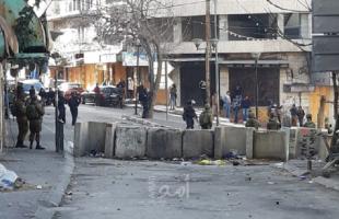 إصابات خلال قمع جيش الاحتلال فعالية ضد الاستيطان غرب سلفيت