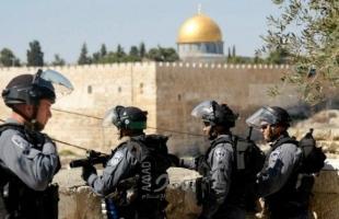 قوات الاحتلال تعتقل 5 شبان قرب باب العامود بالقدس المحتلة