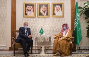 أبو الغيط يقوم بزيارة للرياض ويلتقي وزير الخارجية السعودي