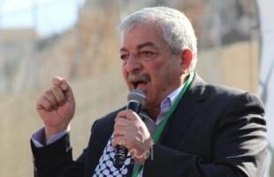 العالول: الاحتلال الإسرائيلي يحاول اثبات أن فتح والسلطة خلف ما يجري في القدس