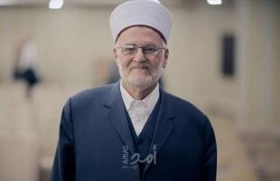 """""""الأوقاف الإسلامية"""" تستنكر قرار قوات الاحتلال إبعاد الشيخ عكرمة صبري عن المسجد الأقصى"""