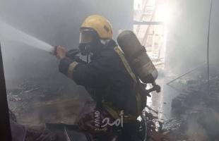 الضفة: طواقم الدفاع المدني تتعامل مع (58) حادث إطفاء وإنقاذ خلال 24 ساعة الماضية
