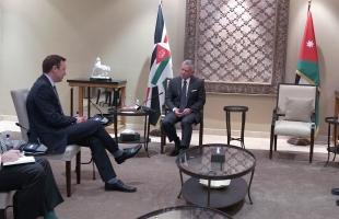 الأردن: الملك عبدالله الثاني يستقبل وفدا أمريكيا