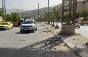 طوباس: إصابات وأضرار بحادث سير في طمون