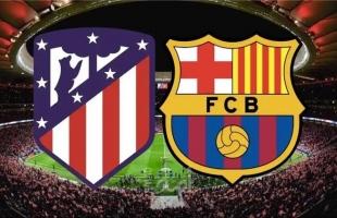 تعادل برشلونة واتلتيكو مدريد لصالح الريال