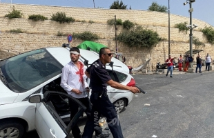 شرطة الاحتلال تحمي مستوطن دهس شاب فلسطيني وأصابه بكسور متعددة- فيديو