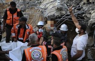 محدث - عشرات الشهداء والإصابات جراء القصف الإسرائيلي المتواصل على قطاع غزة - صور