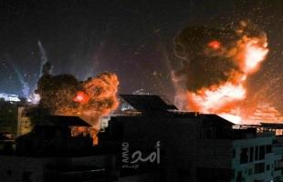 محدث- (4) شهداء وإصابات جراء قصف شقة سكنية وسط قطاع غزة