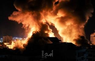 جيش الاحتلال: (52) طائرة قصفت 40 هدفاً في قطاع غزة خلال 25 دقيقة