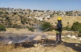 الدفاع المدني: طواقمنا تعاملت مع (51) حادث ومهمة في الضفة