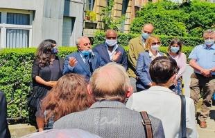 بروكسل: إحياء الذكرى الـ 40 لاستشهاد أول ممثل لمنظمة التحرير في بلجيكا نعيم خضر