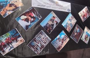 بعيون صحفيي غزة لتوثيق الجرائم الإسرائيلية على قطاع غزة - صور وفيديو