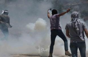"""محدث.. اصابات خلال قمع قوات الاحتلال لمسيرة """"كفر قدوم"""" وجنوب نابلس"""