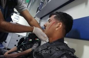 """إصابة (4) من رجال الأمن الأردني بإطلاق نار في أحداث شغب بـ""""ناعور""""- فيديو وصور"""