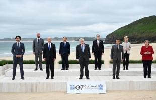 مجموعة السبع: مطالبات لروسيا والصين باحترام حقوق الإنسان وتعهد بتسريع التصدي للتغير المناخي