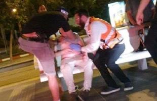 إعلام عبري:  إصابة مستوطنين في عملية طعن قرب محطة القطار بالقدس