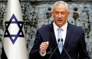 """إعلام عبري: غانتس يصادق على """"بنك أهداف"""" جديد في قطاع غزة"""