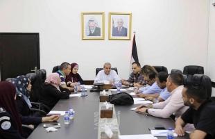قلقيلية: المحافظ يترأس اجتماع اللجنة الفرعية للمخيمات الصيفية