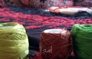 تقرير خاص..التطريز على القماش.. وإبداع الغزية رفقة حسونة - فيديو وصور