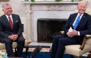 الملك عبدالله: الإدارة الأميركية تدرك دور الأردن في التعاطي مع الأزمات
