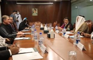 رئيس البرلمان العربي يثمن المواقف المشرفة لجمهورية باكستان تجاه القضية الفلسطينية