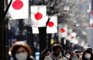 اليابان تكسر حاجز المليون إصابة بفيروس كورونا