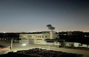 طائرات الاحتلال تقصف أهدافاً وسط قطاع غزة