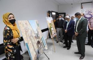 """قلقيلية: افتتاح معرض  للفن التشكيلي بعنوان """"حكايات وطن"""""""