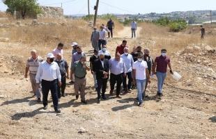 قلقيلية: جولة تفقدية لبلدة عزون عتمة جنوبي المحافظة