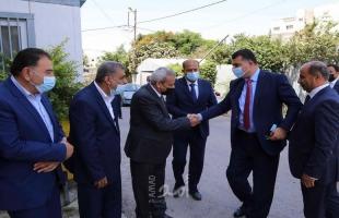 قلقيلية: استقبال وزيري الزراعة الأردني والفلسطيني