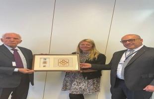الأحمد يلتقي بلجنة الشرق الأوسط في البرلمان النمساوي