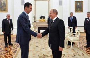 """بوتين يستقبل الرئيس السوري """"بشار الأسد"""" في الكرملين"""