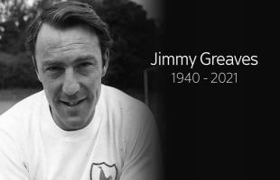 """وفاة أسطورة توتنهام وتشيلسي السابق """"جيمي جريفز """""""