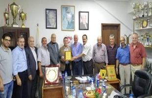 الشخصيات المستقلة تهنئ مجلس إدارة نادي غزة الرياضي