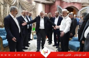 حماس: نسعي لإعادة تشكيل قيادة الشعب الفلسطيني والتوافق على استراتيجية وطنية