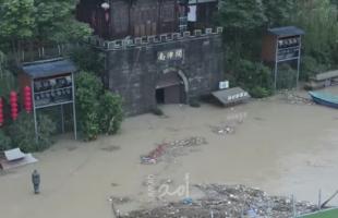 """مصرع (15) شخصاً في الصين نتيجة """"الفيضانات"""""""