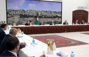 """خلال لقاء سيدات ورجال أعمال.عباس: سنبحث لخيارات الفلسطينية المناسبة في اجتماعات """"تنفيذية المنظمة"""""""