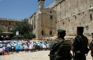 الإسلامية المسيحية: الاحتلال يواصل تهويد المسجد الإبراهيمي باقتحام 30 الف مستوطن