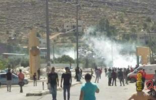 إصابات واعتقالات خلال مواجهات مع قوات الاحتلال في مختلف مدن الضفة
