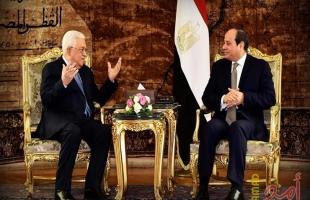 """اللوح: الرئيس عباس يصل """"الأحد"""" للقاهرة للقاء الرئيس السيسي"""