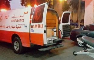 إصابة مواطنة بإنفجار أنبوب غاز في منزلها برفح