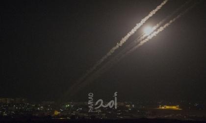 إعلام عبري: إطلاق صواريخ من غزة تجاه بلدات إسرائيلية واصابة واحدة - فيديو