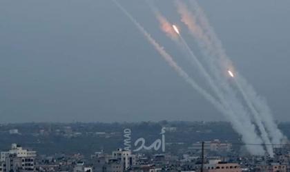 جيش الاحتلال: اعتراض صاروخين أطلقا من غزة على منطقة سديروت - فيديو
