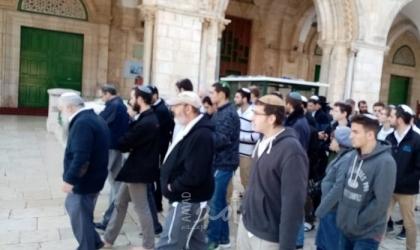 القدس: عشرات المستوطنين يقتحمون المسجد الأقصى بحماية من شرطة الاحتلال