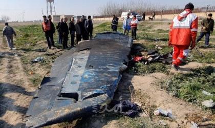 هيئة الطيران المدني الإيراني: صاروخان من نوع TOR-M1 أطلقا نحو الطائرة الأوكرانية من جهة الشمال