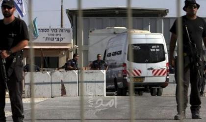 """نادي الأسير: قوات القمع تُنكّل بـ36 أسيرًا في سجن """"مجدو"""" وتنقلهم إلى الزنازين"""