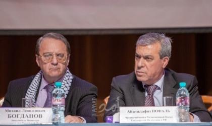 بوغدانوف يبحث مع السفير الفلسطيني في روسيا التسوية الفلسطينية الإسرائيلية