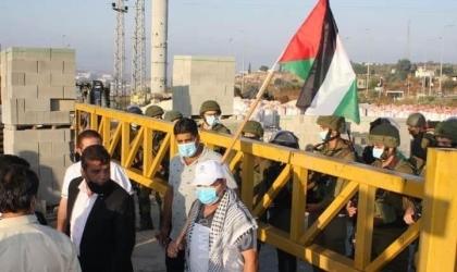 الاحتلال الإسرائيلي يغلق البوابة الحديدية غرب سلفيت ويعيق حركة المواطنين