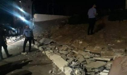 البطنيجي: إصابة مواطنة في انهيار سور إحدى الكفتيريات بغزة