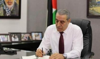 خلال لقاء وزير الخارجية المصري..الشيخ يثمن مبادرة السيسي بإعمار غزة